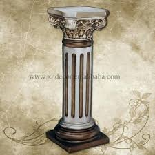 decor with column decoration roman column pillar roman column home