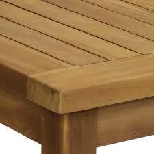 sunnydaze decor 45 in teak wooden