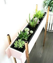 plant stand ideas for indoor and outdoor decoration modern brass legs stand plant tall indoor plant