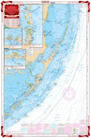 Key Largo Chart Upper Florida Keys Navigation Chart 33
