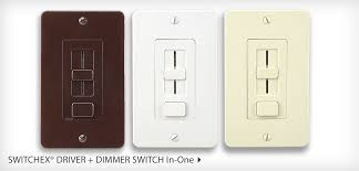 and now introducing a power supply and dimmer switch in one switchex