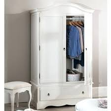 white wood wardrobe armoire shabby chic bedroom. Shabby Chic Armoire White Wood Wardrobe Bedroom Romance Furniture Chest Of .