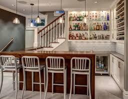55 magnificent basement bar ideas for