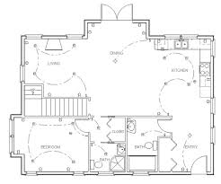 make a floor plan. Make Your Own Blueprint How To Draw Floor Plans Drawing House Plan Step 7 A .