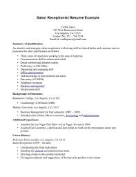 Cosmetology Resume Examples 100 [ Cosmetology Resume Skills ] Example Free Templates 93