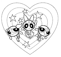 Small Picture Free Printable Powerpuff Girls Coloring Pages For Kids