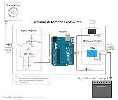 wiring diagram guitar amp footswitch wiring image arduino footswitch control your guitar amp arduino 10 on wiring diagram guitar amp footswitch