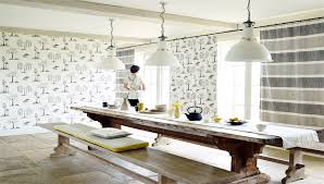 Designer Kitchen Wallpaper Sanderson Designer Fabric And Wallpaper From Traditional To