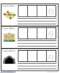 This was the first time my students were introduced to vowel phonics and i had some doubts if they would grasp it easily but. Long A Words With Ai Ay A E Activity