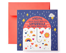 Umbrella Mothers Day Card