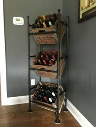 Diy wine cabinet Homemade 22 Diy Wine Rack Ideas Offer Unique Touch To Your Home Pinterest 22 Diy Wine Rack Ideas Offer Unique Touch To Your Home Diy Tips