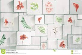 Plants On A White Background ...