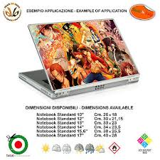 <b>One Piece Cartoon</b> Adhesive Notebook Tablet Sticker Comics Print ...