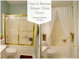 glass shower doors over tub. How To Remove Shower Glass Doors Over Tub S