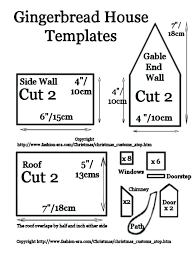 christmas house template the gingerbread house cooked pieces christmas houses