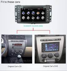 Car Dvd Player For Hummer H3 With Gps Radio Tv Bluetooth Hummer H3 Hummer Car Dvd Players
