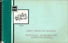 1991 gmc s15 sonoma pickup jimmy wiring diagram manual original 1991 gmc s15 pickup amp jimmy wiring diagram manual original