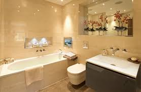 bathroom lighting images. Warm Bathroom Lighting Is Preferable Where A Beige And Brown Coloured Suite Favoured As It Images