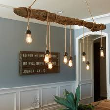 driftwood lighting. ceiling light idea for a branch of driftwood more things you can do with lighting e