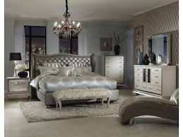 Michael Amini Bedroom Furniture Michael Amini Hollywood Swank King Upholstered Bed Darvin