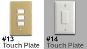 lighting styles. Touch Plate Lighting Styles