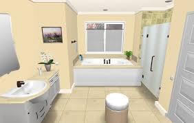 3D Bathroom Designs Custom Decoration