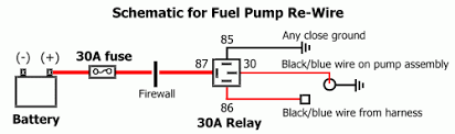 electric fuel pump wiring schematic wiring diagram electric fuel pump wiring diagram ford f250 source on second review i also have to run a wire from the r bk of