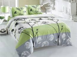 blezza green v2 ranforce double quilt cover set es 121vcq22403 green white grey black