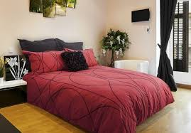 red cord duvet cover set