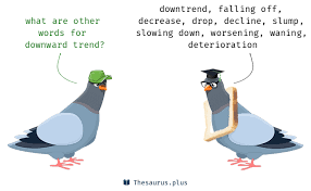 17 Downward trend Synonyms. Similar words for Downward trend.