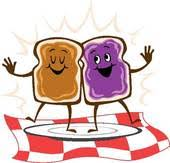 peanut butter clipart. Delighful Clipart Peanut Butter Jelly Sandwich Sandwich With Clipart D