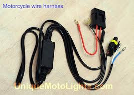 motorcycle hid projector halo angel eyes r6 fz6 zx6r 650r sv650s slim low profile motorcycle wire harness you will receive two harnesses one for each projector