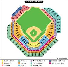 Cbp Seating Chart Citizens Bank Park Gate Map