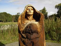 Saying goodbye to the sculptures of Frank Bruce - Forestry and Land Scotland