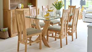 oak and glass round dining table glass top dining sets royal oak glass dining table