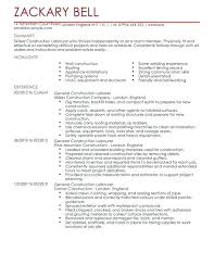 Construction Resume Template Fascinating Construction Cv Template Project Manager Resume Tangledbeard