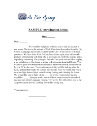 Introductory Letter New Business Introductory Letter Scrumps Sample Introduction Company