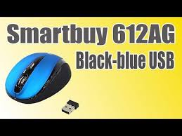 Компьютерная <b>мышь Smartbuy 612AG</b> Black-blue <b>USB</b> Краткий ...