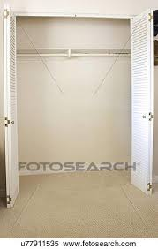 Image Room An Empty Closet In Room San Diego California United States Of America Fotosearch Stock Image Of An Empty Closet In Room San Diego California