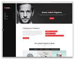 Website Resume Beoreo Vcard Wordpressate Portfolio Examples Designer