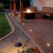 outdoor led paverdot light paver dot light concrete pave dot patio