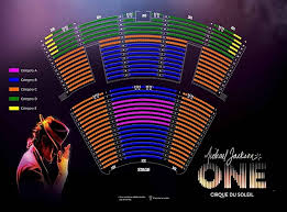 Mandalay Event Center Seating Chart 14 Michael Jackson One Seating Chart Michael Jackson The