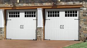Wonderful Wood Garage Door Styles From A Distance You See An Authentic Carriage Intended Simple Design