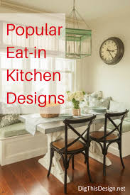 eat in kitchen furniture. Eat In Kitchen Inside The Design Modern Day Dig This Designs 13 Furniture