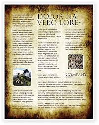 Background Templates For Microsoft Word Rusty Background Flyer Template Background In Microsoft Word