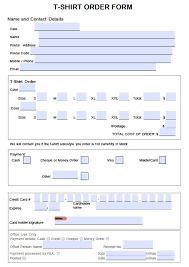 Microsoft Word Fillable Form Template