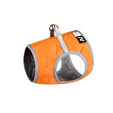 <b>Мягкая шлея</b> AiryVest ONE, размер S2 оранжевая для пород Мопс ...