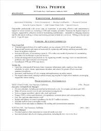 Executive Assistant Resume Cover Letter Resume Cover Letter For Ive