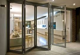 just use the innovative aluminium glass bifold door that maximizes the width of a door opening so that your home feels larger without costing you a