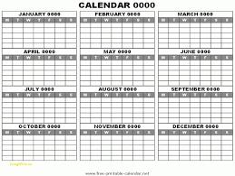 free printable 12 month calendar 12 month calendar template new 12 month calendar template free